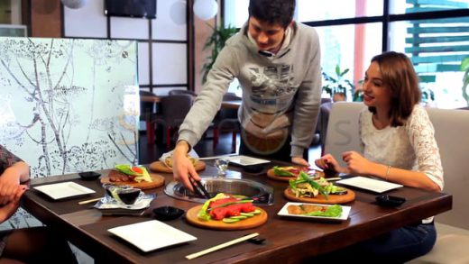 The japanese cuisine restaurant's chain » Якитори New»